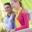 Teenage Couple — Stock Photo