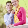 Teenage Couple — Foto Stock