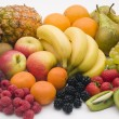 Stock Photo: Selection Of Fresh Fruit