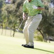 Man Playing A Game Of Golf — Stock Photo