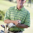 Portrait Of A Male Golfer — Stock Photo