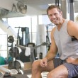 Portrait Of Man At Gym — Stock Photo #4785297