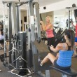 Group Of Weight Training At Gym — Stock Photo #4785400