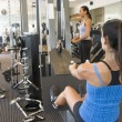 Group Of Weight Training At Gym — Photo