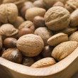Bowl Of Mixed Nuts — Stock Photo
