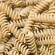 Pasta, Fusilli, Wholewheat - Stock Photo