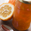 Stock Photo: Jar Of Marmalade