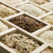 Selection Of Rices — Stockfoto