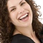 Portrait de femme souriant — Photo