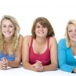 Portrait Of Teenage Girls — Stock Photo #4785832