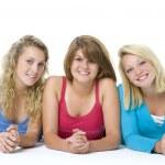 Portrait Of Teenage Girls — Stock Photo #4785834