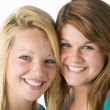 Portrait Of Teenage Girls — Stock Photo