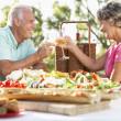 Couple Dining Al Fresco — Stock Photo #4787184
