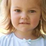 Portrait Of Baby Girl — Stock Photo