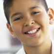 Portrait Of Boy Smiling — Stock Photo