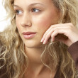 Portrait Of Young Woman Looking Thoughtful - Foto de Stock  
