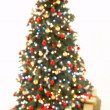Abstract View Of Christmas Tree — Stock Photo