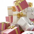 Pile Of Christmas Presents — Stock Photo #4788540