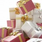 Pile Of Christmas Presents — Stock Photo