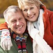 Portrait Of Senior Couple Hugging — Stock Photo #4788795