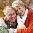 Portrait Of Senior Couple Hugging — Stock Photo #4788799