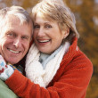 Portrait Of Senior Couple Hugging — Stock Photo #4788803