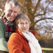 Portrait Of Senior Couple Hugging — Stock Photo #4788807