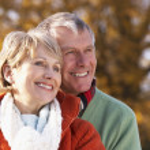 Portrait Of Senior Couple Hugging — Stock Photo #4788809