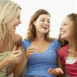 Stock Photo: Female Friends Laughing Together