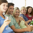 Stock Photo: Friends Enjoying Drink Together
