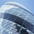 Glass Exterior Of Swiss Re Tower, London, England - Stockfoto