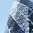 Glass Exterior Of Swiss Re Tower, London, England — Stock Photo