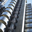 Low Angle View Of The Lloyd's Building In London, England - Foto de Stock
