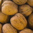Stock Photo: Walnuts In Basket