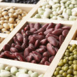 Selection Of Beans — 图库照片