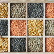 图库照片: Selection Of Pulses