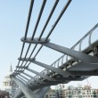 Millennium Footbridge, London, England — Stock Photo