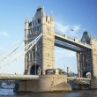 Tower Bridge in London, england — Stockfoto #4789951