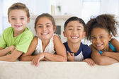 Group Of Young Friends Together — Stock Photo