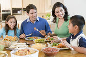 Family Enjoying meal,mealtime Together — Fotografia Stock