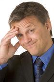 Businessman With A Headache — Stock Photo