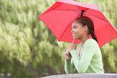 Portrait Of Teenage Girl Outdoors — Stock Photo