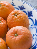 Bowl Of Seville Oranges — Stock Photo