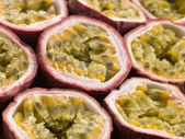 Halved Passion Fruit — Stock Photo