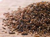 Red Camargue And Wild Rice — Stock Photo