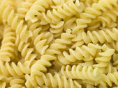 Pasta, Fusilli — Stock Photo