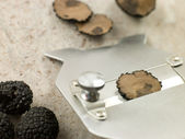 Truffle And Slicer — Stock Photo