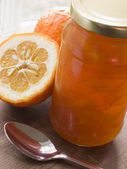 Jar Of Marmalade — Stock Photo