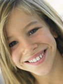 Portrait Of Girl Smiling — Stockfoto