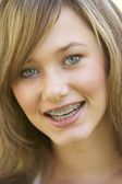 Portrait Of Girl Smiling — Stock Photo